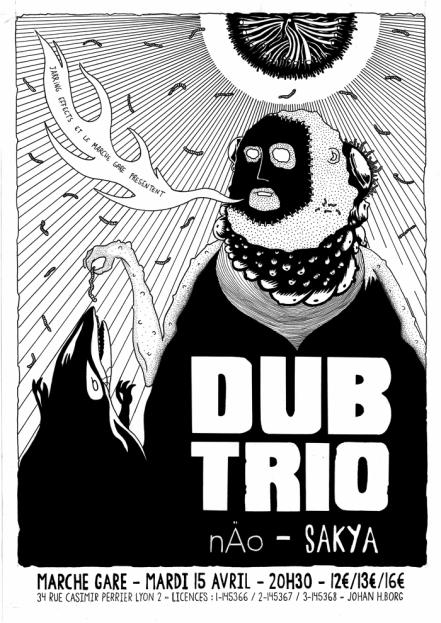 Dub Trio Marché Gare