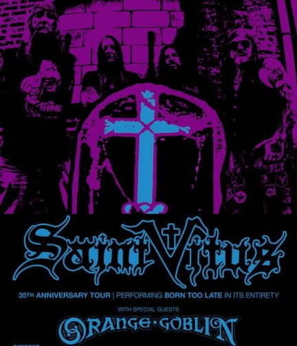 Tournée europe 2014 Orange Goblin + Saint VItus