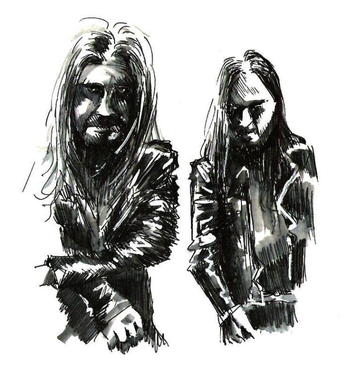 DARKTHRONE par J. Guyot