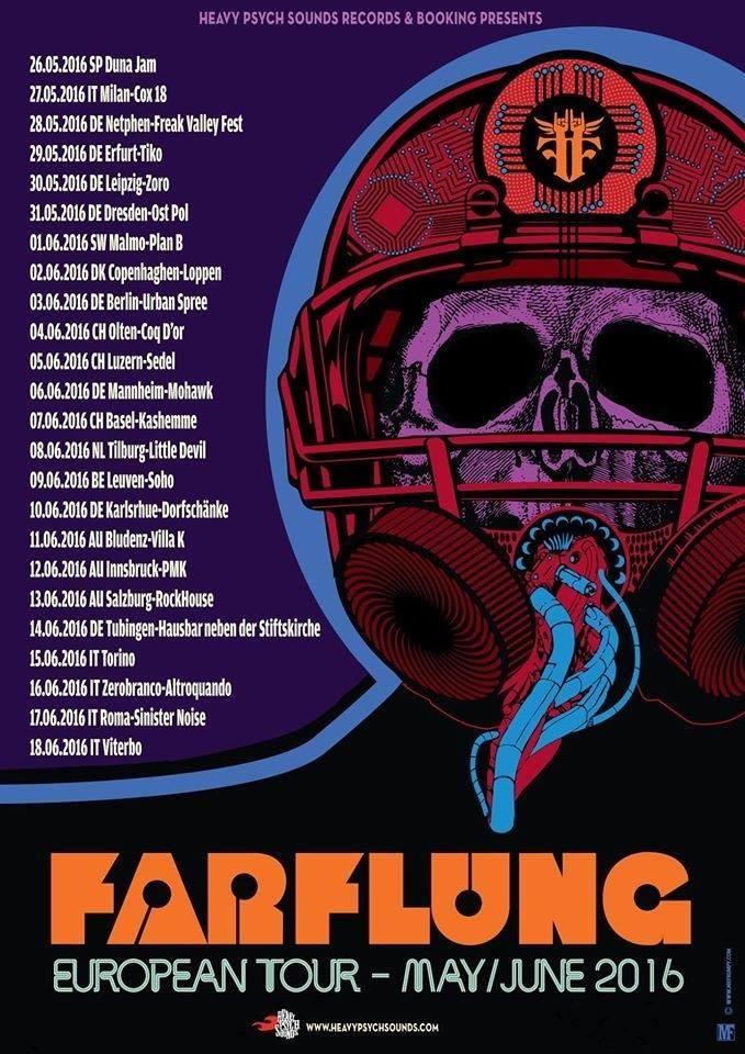 Farflung tour